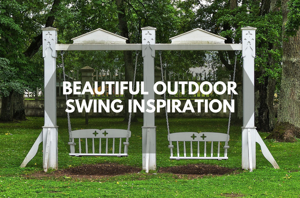 Beautiful Outdoor Swing Inspiration