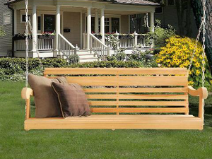 How to Maintain Your Wooden Porch Swing