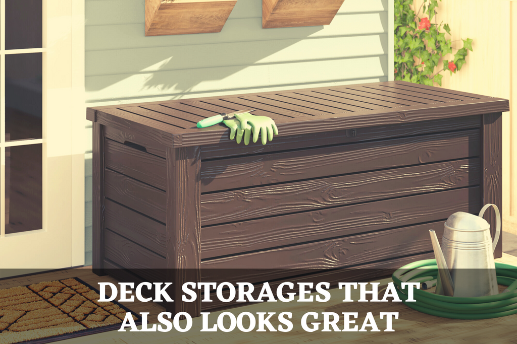 Deck Storage That Also Looks Great
