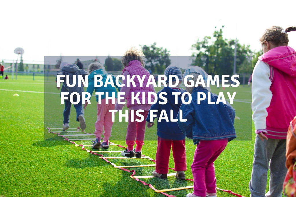 Fun Backyard Games For The Kids To Play This Fall