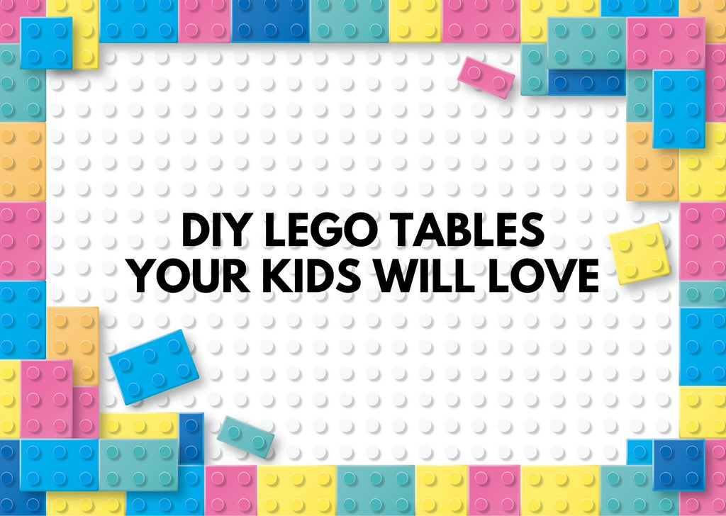 DIY Lego Tables Your Kids Will Love