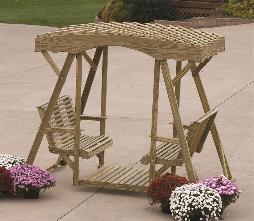 Plastic Lawn Gliders & More - Best Types of Patio Furniture You Can Buy