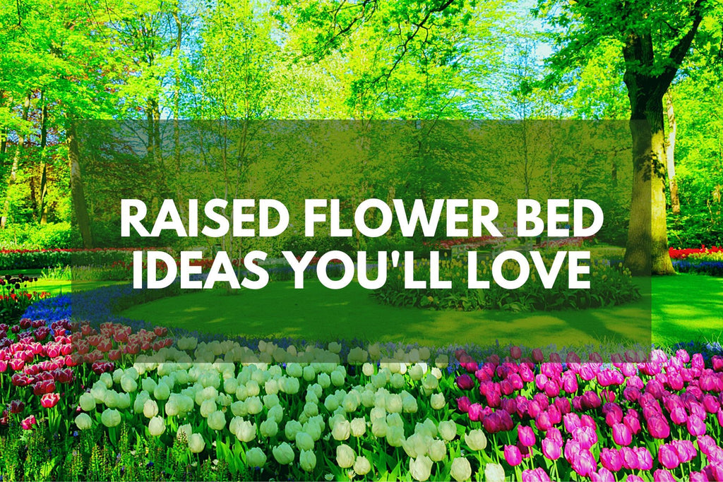 Raised Flower Bed Ideas You'll Love