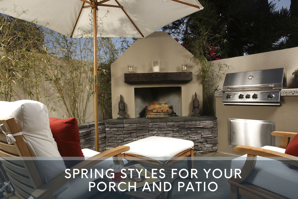 Spring Styles for Your Porch and Patio