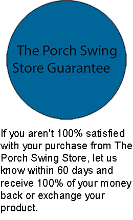 Text - The Porch Swing Store Difference