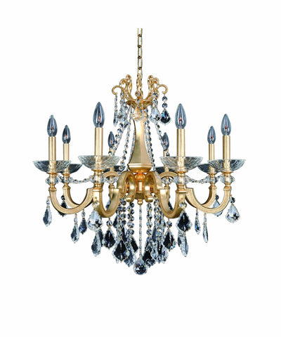 Allegri Barret 8 Light Chandelier W/Swarovski Elements Crystal Chandelier 025451-011-SE001 720062258545