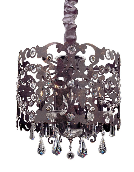 Allegri Bizet 4 Light Chandelier W/Swarovski Elements Crystal W/Sienna Bronze Chandelier 10247-013-SE001 720062254042