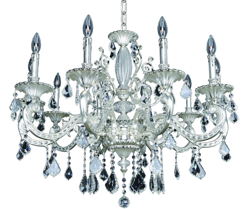 Allegri Cassella 10 Light Chandelier W/Swarovski Elements Crystal Chandelier 024753-017-SE001 720062258217