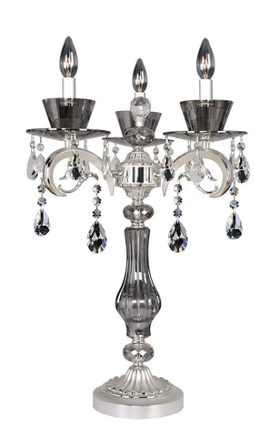 Allegri Locatelli 3 Light Table Lamp W/Swarovski Elements Crystal Indoor Lighting 10094-017-SE001 720062253984