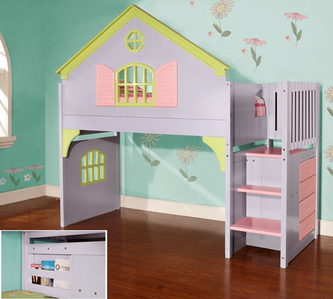 Donco Donco Doll House Stair Step Loft Loft 0300 812614021261