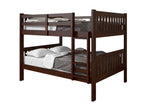 Donco Donco Full/Full Mission Bunk Cappuccino Bunk Bed 1015-3FFCP 812614020851