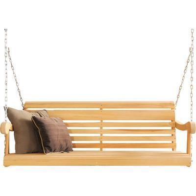 Hershy Way Hershy Way Cypress 5ft. Classic Grandpa Porch Swing Classic Porch Swing C1514