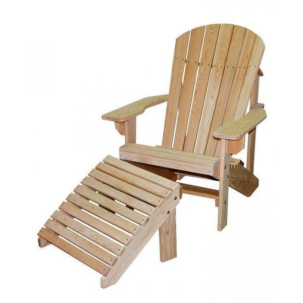 Hershy Way Hershy Way Cypress Patio Adirondack Chair Without Footrest Adirondack Chair C1450