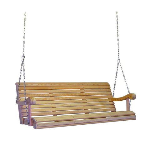 Hershy Way Hershy Way Grandpa Series 5ft. Cypress Porch Swing Porch Swing C3500