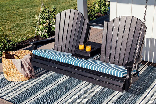 LuxCraft LuxCraft Adirondack 5ft. Recycled Plastic Porch Swing