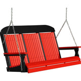 LuxCraft LuxCraft Classic Highback 5ft. Recycled Plastic Porch Swing