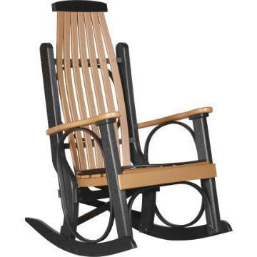 LuxCraft LuxCraft Grandpa's Recycled Plastic Rocking Chair (2 Chairs) Rocking Chair