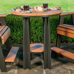 "LuxCraft LuxCraft Recycled Plastic 36"" Balcony Table Tables"
