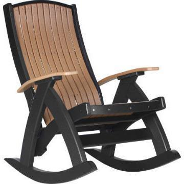LuxCraft LuxCraft Recycled Plastic Comfort Porch Rocking Chair Rocking Chair