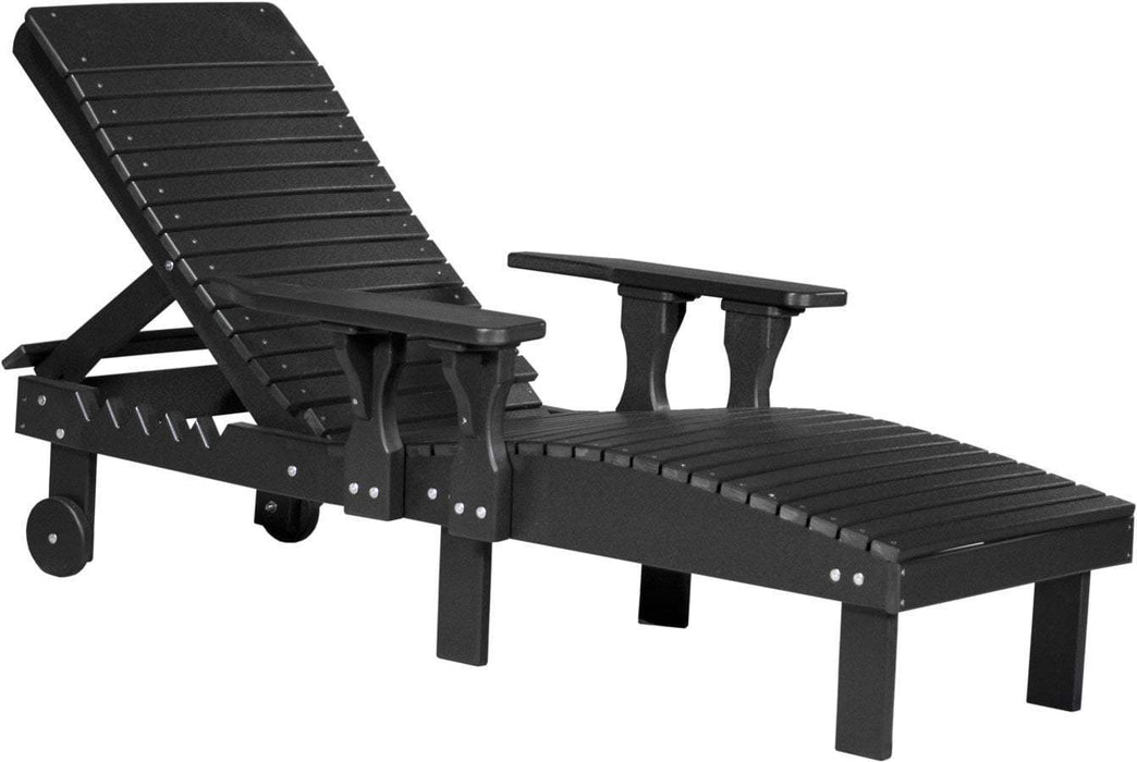 LuxCraft LuxCraft Recycled Plastic Lounge Chair Adirondack Deck Chair