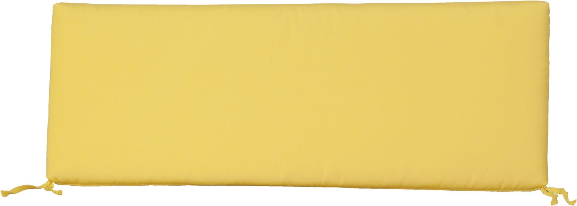 LuxCraft LuxCraft Sunbrella 4 ft. Glider/Swing Cushion Buttercup Cushion 4SCB5438