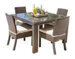Panama Jack Fiji 5 PC Side Chair Dining Set with Cushions Standard Dining Set 901-3347-ATQ-5DS-CUSH 811759029811