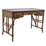Panama Jack Palm Cove Desk w/Glass Desk 1102-5655-ATQ-GL 193574110418
