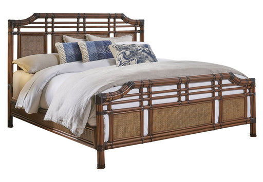 Panama Jack Palm Cove King Complete Bed King Bedroom Sets 1102-5647-ATQ-KB 811759029637