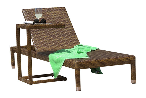 Panama Jack Panama Jack 2 PC St Barths Chaise Lounge Set Without Cushion Chaise Lounge PJO-3001-BRN-2PCC 811759020450