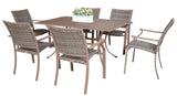 Panama Jack Panama Jack Island Cove 7 PC Slatted Dining Group Dining Set PJO-8001-ESP-7DA 811759020566