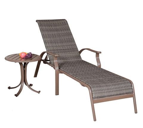 Panama Jack Panama Jack Island Cove Woven 2 PC Lounge set Chaise Lounge PJO-8001-ESP-2CL 811759020634