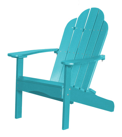 Wildridge Wildridge Classic Recycled Plastic Adirondack Chair Aruba Blue Outdoor Chair LCC-214-AB