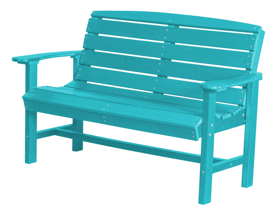 Wildridge Wildridge Classic Recycled Plastic Classic Bench Aruba Blue Outdoor Bench LCC-226-AB