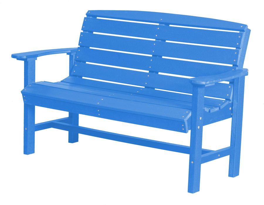 Wildridge Wildridge Classic Recycled Plastic Classic Bench Blue Outdoor Bench LCC-226-BL
