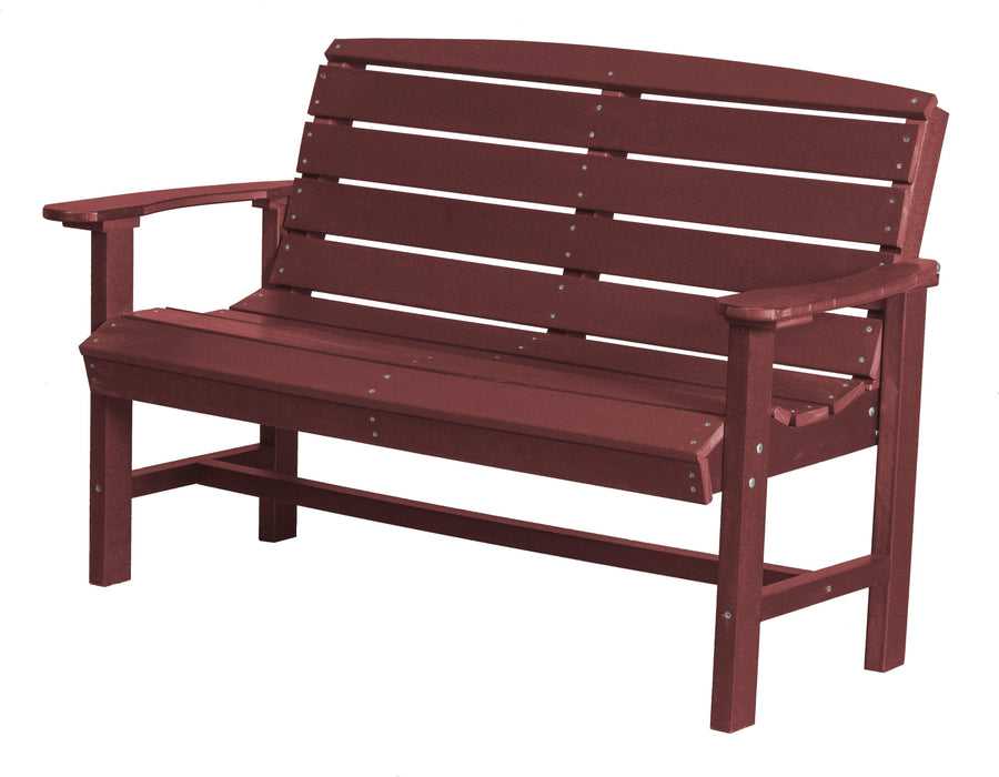 Wildridge Wildridge Classic Recycled Plastic Classic Bench Cherry Outdoor Bench LCC-226-C
