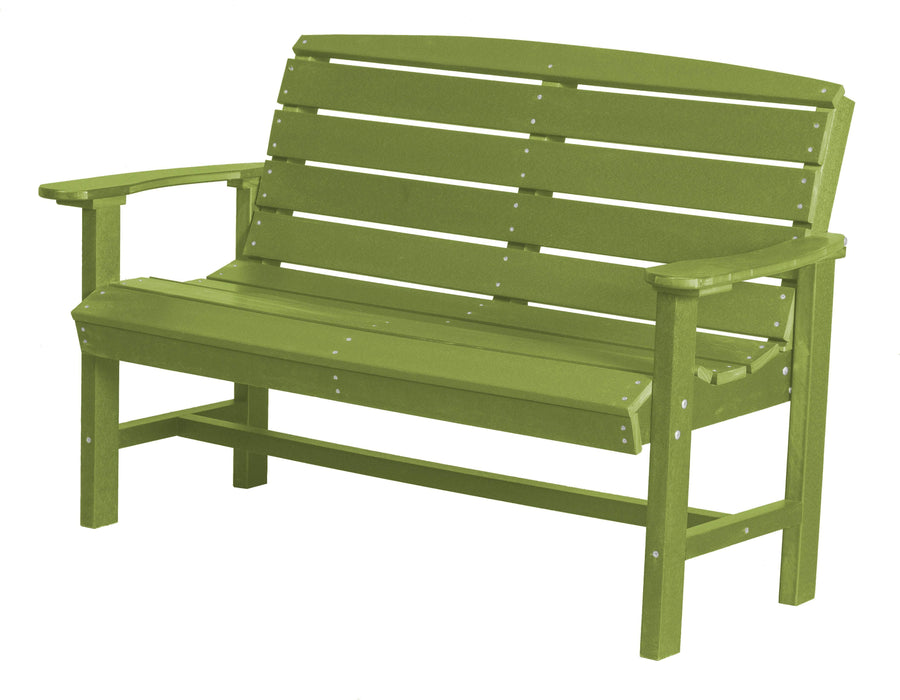 Wildridge Wildridge Classic Recycled Plastic Classic Bench Lime Green Outdoor Bench LCC-226-LG