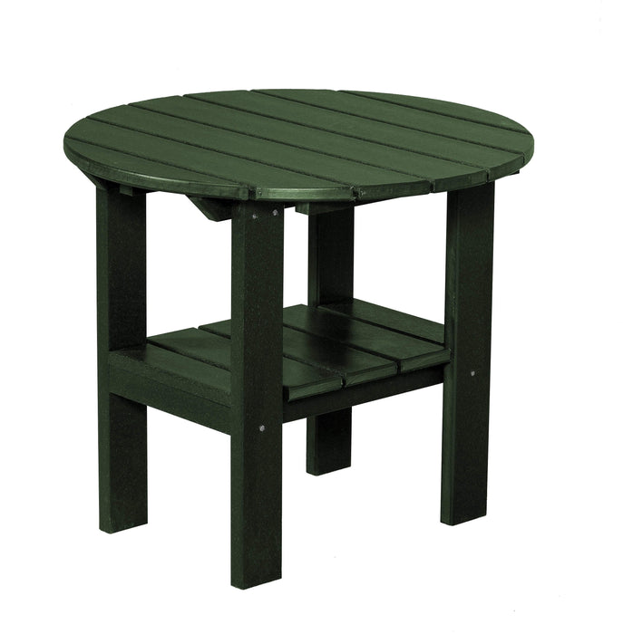 Wildridge Wildridge Classic Recycled Plastic Round Side Table Turf Green Side Table LCC-223-TG