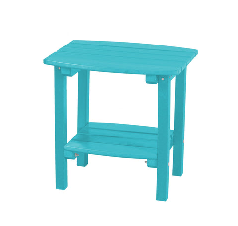 Wildridge Wildridge Classic Recycled Plastic Side Table Aruba Blue Side Table LCC-222-AB
