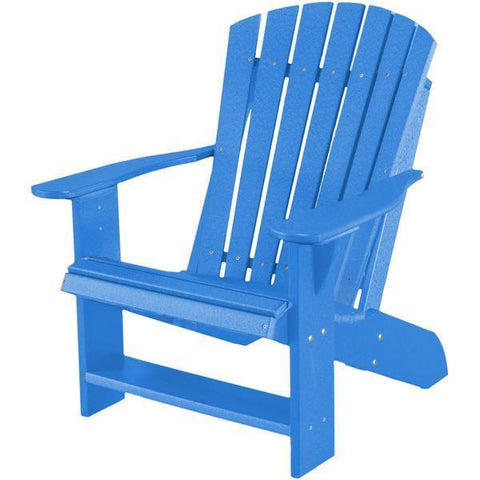 Wildridge Wildridge Heritage Recycled Plastic Adirondack Chair Blue Adirondack Chair LCC-114-BL