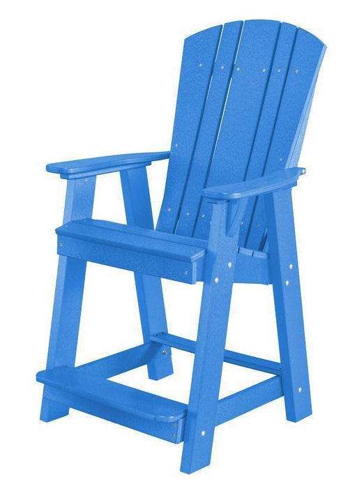 Wildridge Wildridge Heritage Recycled Plastic Balcony Chair Blue Chair LCC-150-BL