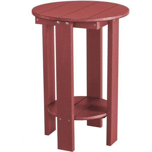 Wildridge Wildridge Heritage Recycled Plastic Balcony Table Cherry Tables LCC-152-C