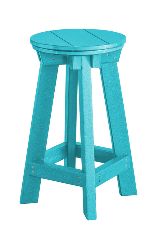 Wildridge Wildridge Heritage Recycled Plastic Bar Stool Aruba Blue Stool LCC-182-AB