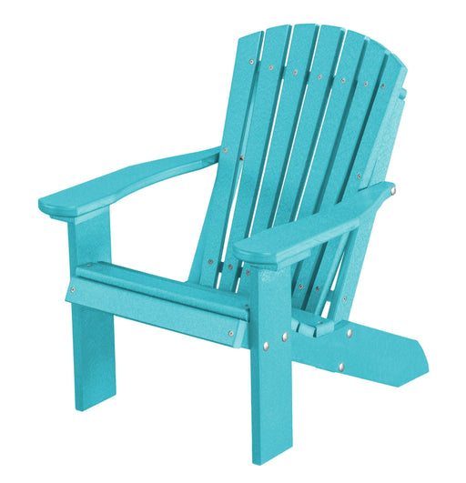 Wildridge Wildridge Heritage Recycled Plastic Child's Adirondack Chair Aruba Blue Adirondack Chair LCC-113-AB