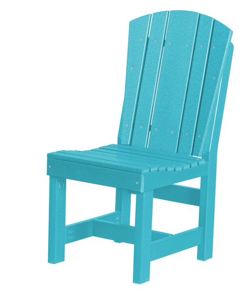 Wildridge Wildridge Heritage Recycled Plastic Dining Chair Aruba Blue Chair LCC-153-AB