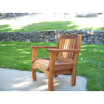 Wood Country Wood Country Cabbage Hill Red Cedar Chair Stained + $20.00 Outdoor Chair WCCHRCC
