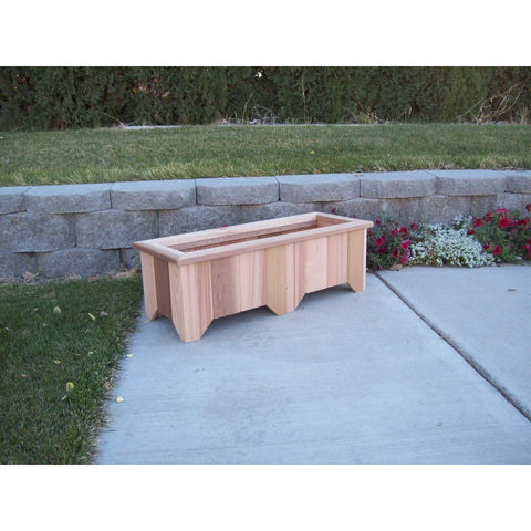 Wood Country Wood Country Cedar Planter Box #9 Unstained Planter Box WCCPB9