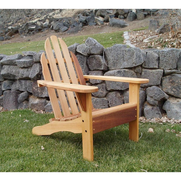 Wood Country Wood Country Idaho Red Cedar Adirondack Chair Cedar Stain + $25.00 Adirondack Chair WCIACS