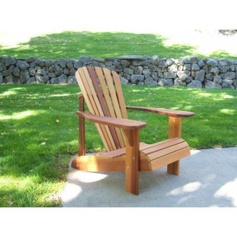 Wood Country Wood Country T&L Red Cedar Child's Adirondack Chair Stained + $23.00 Adirondack Chair WCCCACS