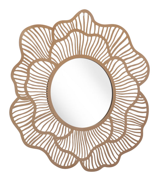 Zuo Modern Zuo Modern Ketu Mirror Gold Wall Decor A12206 842896142064
