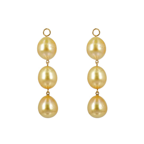 Golden South Sea Pearl drops